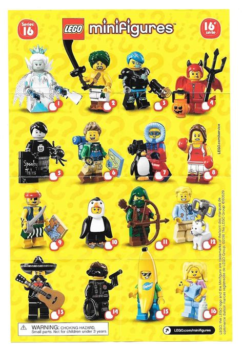 Penguin Boy Minifigures Series 16 Minifigure Misp New Sealed with bricks review lego collectible minifigures