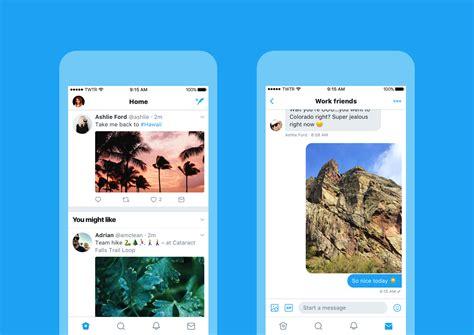 novo layout twitter twitter ganha novo layout com melhorias em usabilidade