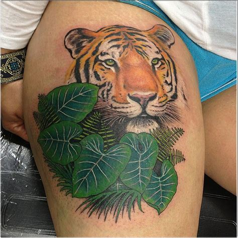 tattoo fixers diamond tiger tiger cover up by tommy yelp