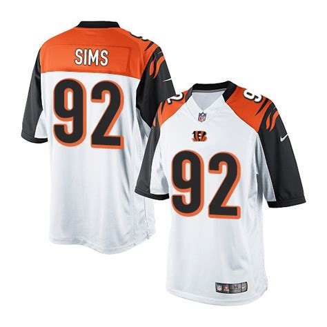 youth green mike nugent 1 jersey purchase program p 435 cincinnati bengals pat sims official nike white elite