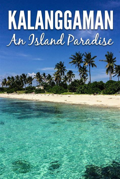 kalanggaman island  paradise discovered travelgeekery