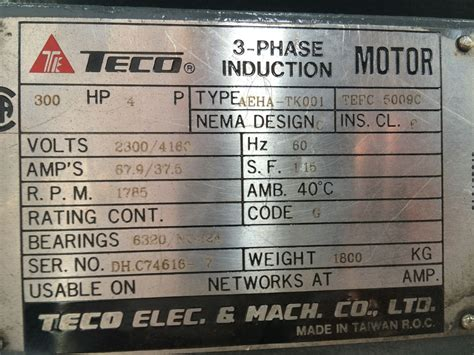 teco 3 phase induction motor wiring diagram circuit