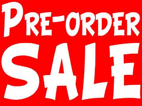 Pre Sale Is On pre order sale news spooky range db
