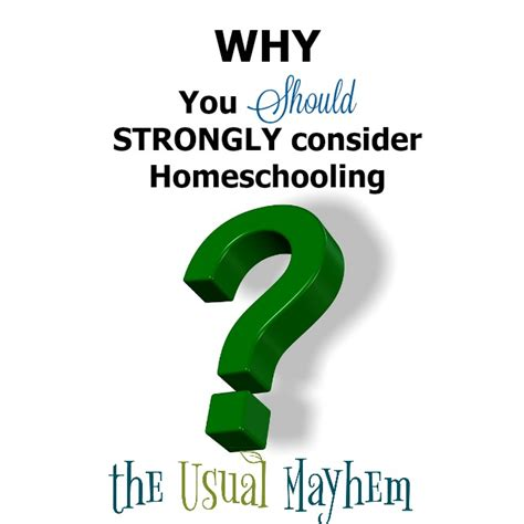 why you should strongly consider homeschooling