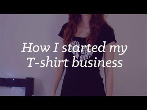 design clothes and sell them online how i started my business selling t shirts online youtube