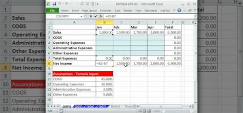 how to use mixed cell references in formulas in ms excel