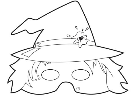 printable halloween masks for coloring free printable face masks masks coloring pages 9 online