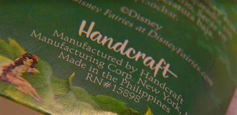 Handcraft Worldwide Company - this found an alarming note inside a packet of