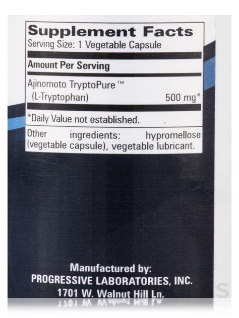 l tryptophan vegetables tryptopure l tryptophan 500 mg 90 vegetable capsules