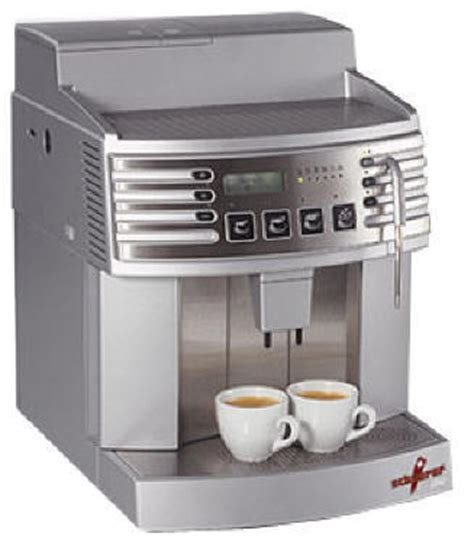 Plumbed In Coffee Machine by Schaerer Siena 1 Espresso Machine Plumbed In 220v Version Espresso Planet