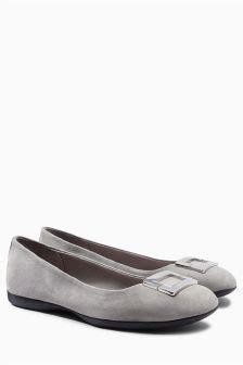 Flat Shoes Suede 336 Merah ballerina shoes black ballet shoes next uk