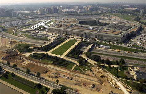Photo Op The Pentagon by File Us Navy 030926 F 2828d 055 Aerial View Of The