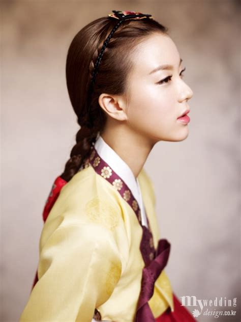 korean hairstyle for hanbok traditional korean hairdo braided hair for single women