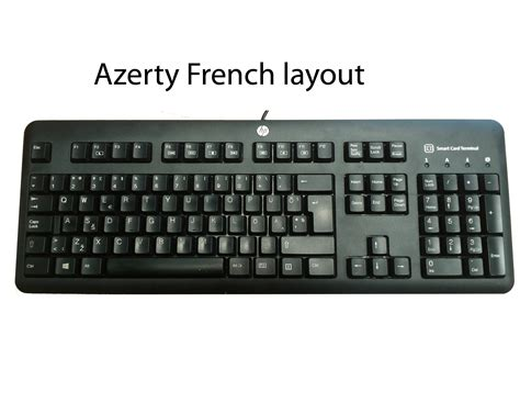 keyboard layout for hp laptop hp kus1206 smartcard usb ccid french layout keyboard