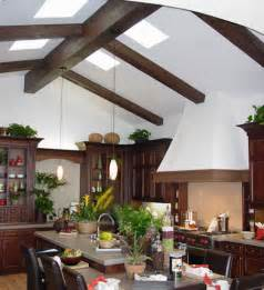 vaulted ceiling with beams 15 faux wood ceiling beam ideas photos