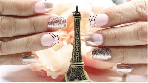 imagenes de uñas acrilicas rositas u 209 as acrilicas rosita y oro rosa u 209 as efecto espejo pink