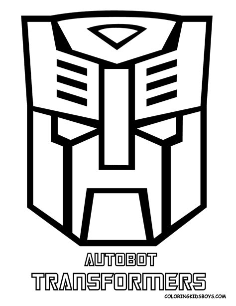 transformers logo coloring pages digital dunes autobot transformers logo coloring pages