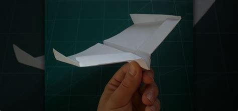 How To Make Glider Paper Airplane - how to fold the record setting glider style paper airplane
