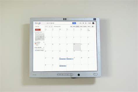 Raspberry Pi Calendar Home Automation