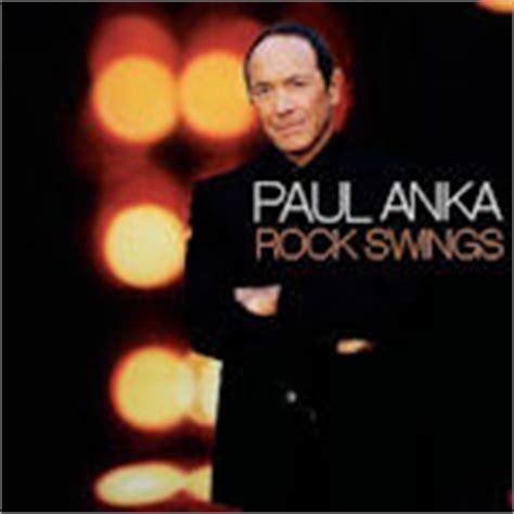rock swings paul anka rock swings paul anka cd album 2005 cd lexikon de