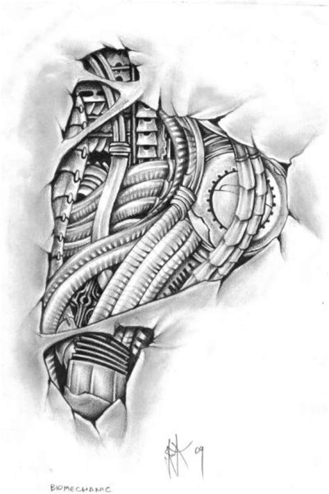 biomechanical tattoo line drawing 17 best images about tattoo on pinterest caduceus tattoo