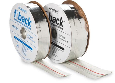 weld backing tape fiberglass weld tape aquasol welding