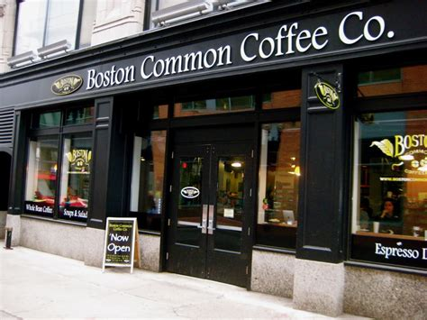 popular boston based coffee chain and wholesaler accepts