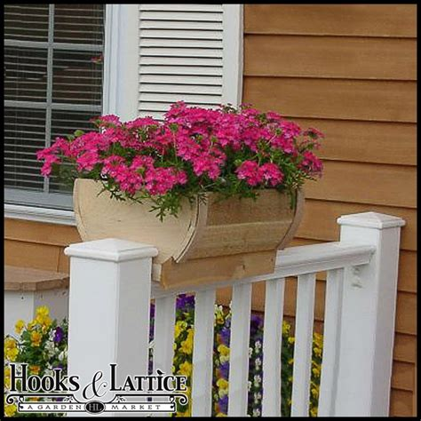 the rail window boxes 1000 images about garden containers deck railing on