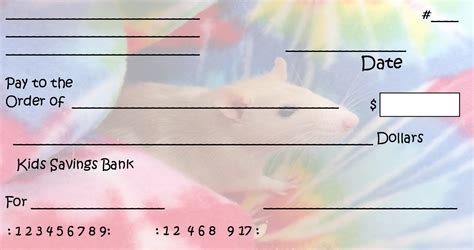 pretend checks template 7 best images of printable checks printable play