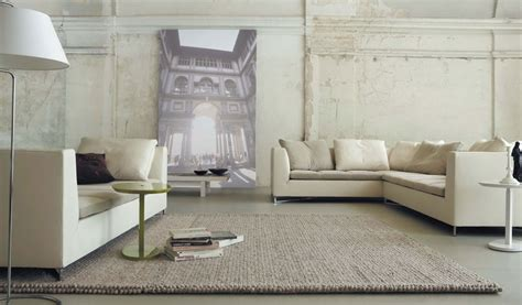 Living Room Ideas With Light Brown Sofas by Minimalist Loft Living Room With Sofas And