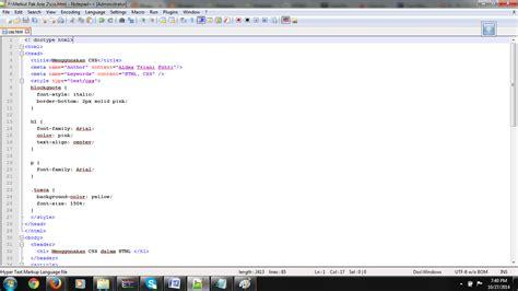 membuat header html5 membuat halaman web dengan menggunakan html5 css3 dan