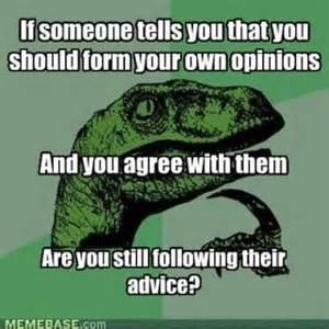 Thoughtful Memes - the philosoraptor owlspeak