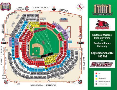stl stadium seating chart stl cardinals seating chart ballpark seating charts