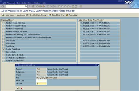 sap lsmw tutorial material master lsm 14 03 images usseek com