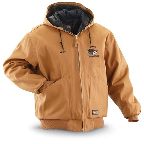 large jacket walls 174 big smith 174 hooded duck jacket 187214 insulated jackets coats at