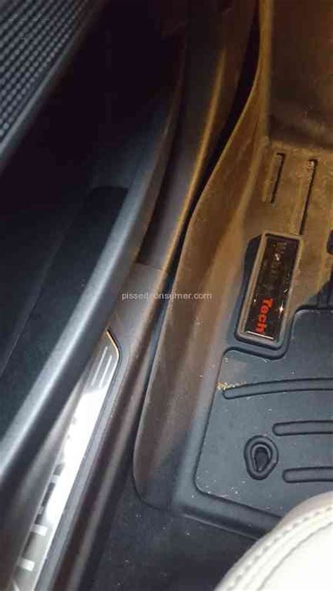 Weathertech Floor Mat Reviews by Weathertech Canada Terrible Mat Fit And Louzy Costumer