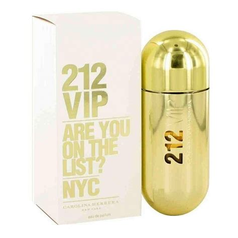 Parfum 212 Carolina Herrera Original 212 vip perfume by carolina herrera 1 7oz eau de parfum