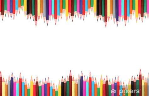 fotomural lapices marco de color pixers vivimos