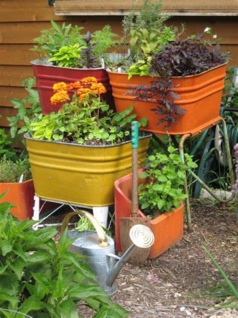 herb kitchen garden best 20 wash tubs ideas on pinterest rustic outdoor