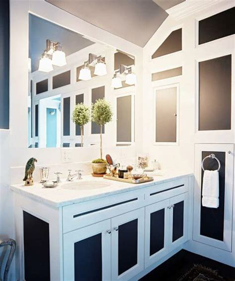 24 inspiring small bathroom designs apartment geeks big mirrored wall mod apartment geeks