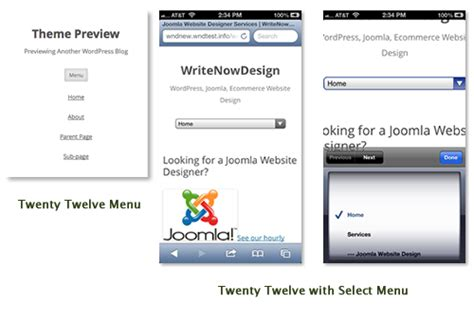 select layout wordpress how to add a responsive select menu to wordpress twenty