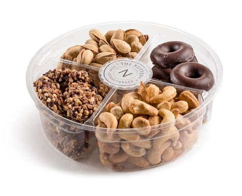 Nuts Gifts For - plastic 4 section chocolate and nuts gift tray gifts