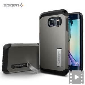 Samsung Galaxy S6 Spigen Stand Tough Armor Hardcase S S spigen tough armor samsung galaxy s6 edge gunmetal