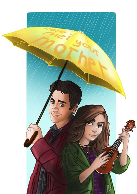 how i met my my yellow umbrella how i met your by paperblade on deviantart