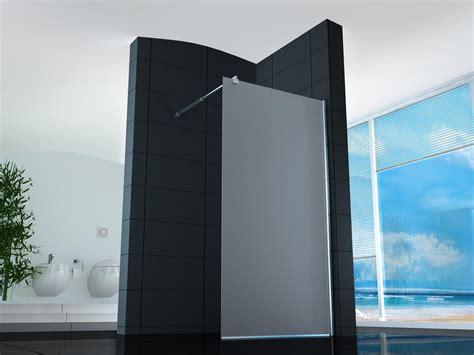 box doccia un lato shopbagno it parete doccia walk in satinata luxa box