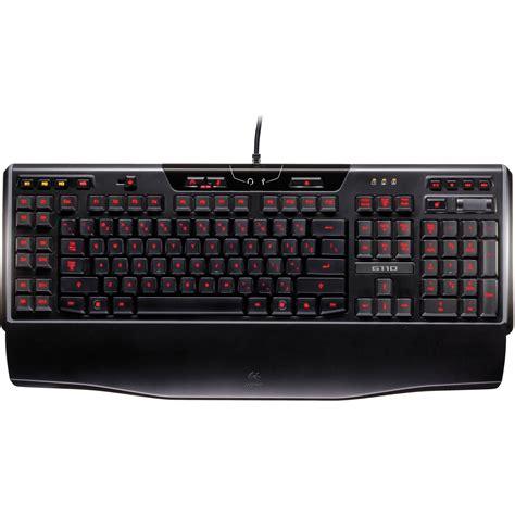 Keyboard Gaming Logitech logitech g110 gaming keyboard 920 002232 b h photo