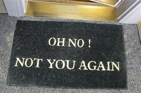 funny doormats 12 socially awkward doormats engineers need when they are working
