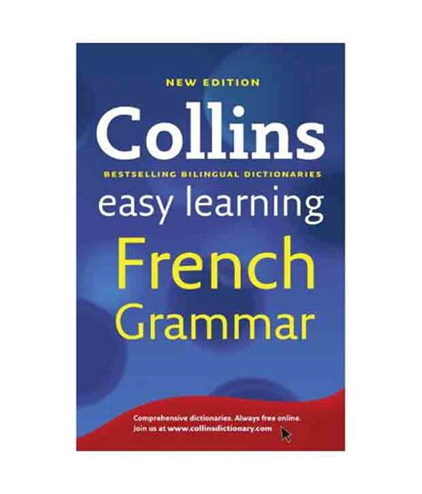 0007391390 easy learning french grammar and collins easy learning french grammar buy collins easy