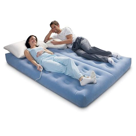 aerobed 174 dual zone premier air bed 121539 air beds at
