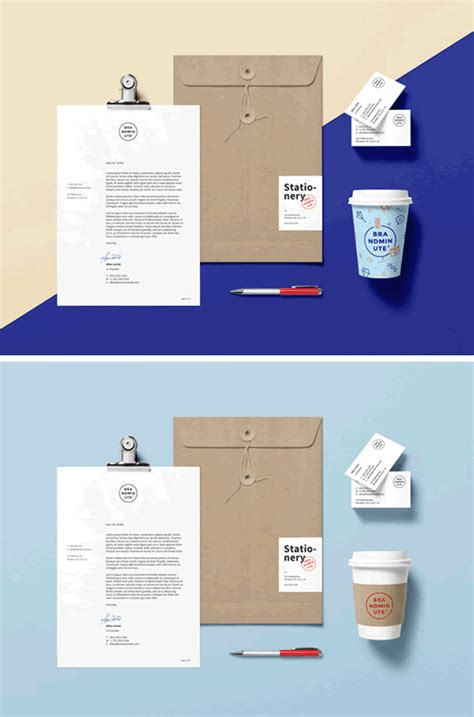 branding design mockup 15 free brand identity mock ups